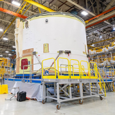 Boeing, NASA Complete Majority of Space Launch System Outfitting Work - top government contractors - best government contracting event