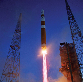 Boeing-Built Air Force Satcom Satellite Installed Onto ULA's Delta 4 Rocket - top government contractors - best government contracting event