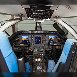 Air Force Jayhawk Trainer Aircraft Flies With Collins Aerospace Avionics Tech - top government contractors - best government contracting event
