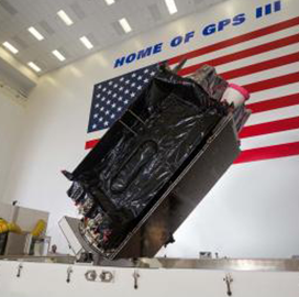 Lockheed Ships Second GPS III Satellite to Cape Canaveral; Jonathon Caldwell Quoted - top government contractors - best government contracting event