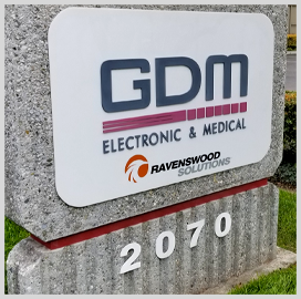 Ravenswood, GDM Enter Hardware Manufacturing Partnership for Military, Homeland Security Customers - top government contractors - best government contracting event