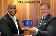 Jim Garrettson, CEO of Executive Mosaic, Presents Tony Frazier, President of Radiant Solutions, His Fourth Wash100 Award
