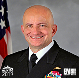 Vice Adm  Robert Sharp, NGA Director, Inducted Into 2019