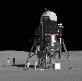 Lockheed Presents New Lunar Lander Design for NASA Moon Mission - top government contractors - best government contracting event
