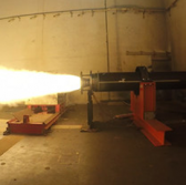 Raytheon Puts DeepStrike Missile Rocket Motor Through Static Test - top government contractors - best government contracting event