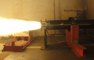 Raytheon Puts DeepStrike Missile Rocket Motor Through Static Test