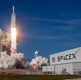 SpaceX Completes Third Fire Test of Falcon Heavy Rocket's 27 Engines - top government contractors - best government contracting event