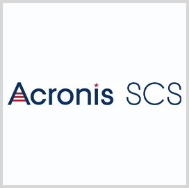Acronis SCS Launched as Independent Cybersecurity Provider; John Zanni Quoted - top government contractors - best government contracting event