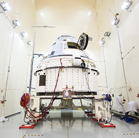 NASA, Boeing Agree to Extend Starliner Flight Test Duration - top government contractors - best government contracting event