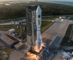 ULA Delivers AEHF-5 Satellite Rocket Hardware to Cape Canaveral Launch Site