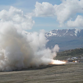 Northrop Concludes Second Ground Test of Atlas V Rocket Motor - top government contractors - best government contracting event