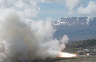 Northrop Concludes Second Ground Test of Atlas V Rocket Motor