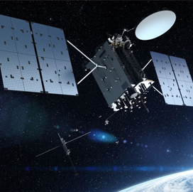 Harris Secures $243M Contract for GPS III Follow-On Satellite Navigation Systems - top government contractors - best government contracting event