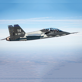 Boeing Selects Cobham for Air Force T-X Trainer Oxygen System - top government contractors - best government contracting event