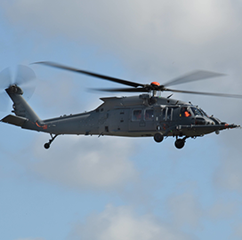 Sikorsky Conducts Maiden Flight of HH-60W Rescue Helicopter for U.S. Air Force - top government contractors - best government contracting event