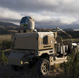 Raytheon Demos Counter-Drone Directed Energy Systems to Air Force - top government contractors - best government contracting event