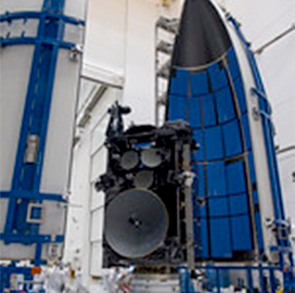 Lockheed Prepares New USAF Communications Satellite for Launch - top government contractors - best government contracting event