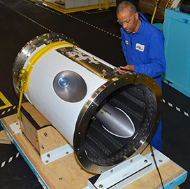 Aerojet Rocketdyne Delivers Jettison Motor to Lockheed for Orion Spacecraft - top government contractors - best government contracting event