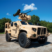 Oshkosh Defense, Partners Demo Javelin Anti-Tank Weapon - top government contractors - best government contracting event