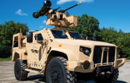 Oshkosh Defense, Partners Demo Javelin Anti-Tank Weapon