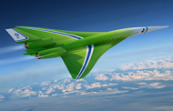 Lockheed Unveils Quiet Supersonic Technology Airliner Concept