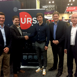 Ursa to Resell ICEYE Satellite Data Offerings - top government contractors - best government contracting event