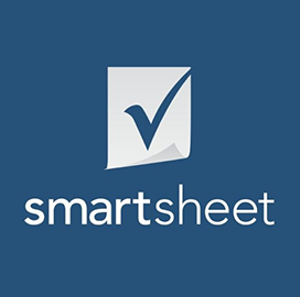 Smartsheet Receives AWS Government Competency Designation - top government contractors - best government contracting event
