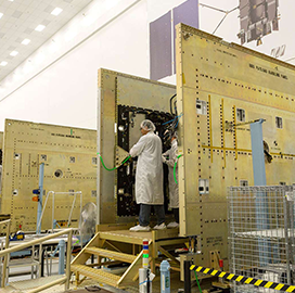 Harris Provides Additional Navigation Payload for GPS III Satellite Program - top government contractors - best government contracting event