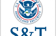 DHS S&T Names Eight Tech Industry Finalists for $1.6M Opioid Detection Challenge