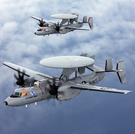 Northrop Taps Lockheed for Additional E-2D Aircraft Radars - top government contractors - best government contracting event
