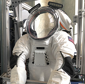 Collins Aerospace, ILC Dover Introduce Next-Gen Space Suit Prototype - top government contractors - best government contracting event