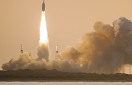 Lockheed's Orion Launch Abort System With Northrop-Built Booster Completes Second Flight Test