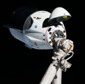 SpaceX, NASA Conduct 'Crew Dragon' Practice Docking to ISS - top government contractors - best government contracting event