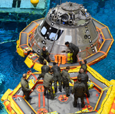 Raytheon-NASA Team Preps for Orion Spacecraft Recovery Ahead of Artemis 2 Mission - top government contractors - best government contracting event