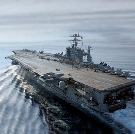 HII Shipbuilding Division to Extend Refueling, Overhaul of Navy's USS George Washington Aircraft Carrier - top government contractors - best government contracting event