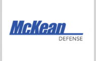 McKean Defense Lands Navy Contracts Worth $62M for NAVWAR, NSWC Support Efforts