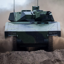 Raytheon, Rheinmetall, Pratt & Miller Form Army Combat Vehicle Dev't Partnership - top government contractors - best government contracting event
