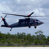 Sikorsky Demos Tactical Mission Kit on HH-60W Helicopter - top government contractors - best government contracting event