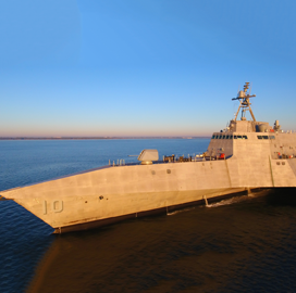 General Dynamics Installs Naval Strike Missile Aboard LCS 10 - top government contractors - best government contracting event