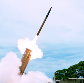 MDA Concludes Test of Lockheed-Built Ballistic Missile Defense Tech - top government contractors - best government contracting event