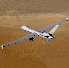 General Atomics-Built Reaper UAV Supports Marine Squadron Operations - top government contractors - best government contracting event