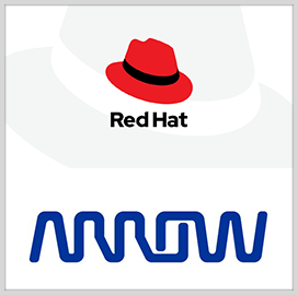 Red Hat, Arrow Electronics Partner for North America Distribution Effort - top government contractors - best government contracting event