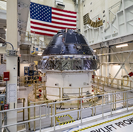 """Lockheed, NASA to Further """"˜Orion' Spacecraft Testing in Late 2019 - top government contractors - best government contracting event"""