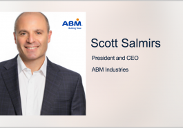 ABM Industries CEO Scott Salmirs Joins ICF Board; John Wasson Quoted - top government contractors - best government contracting event