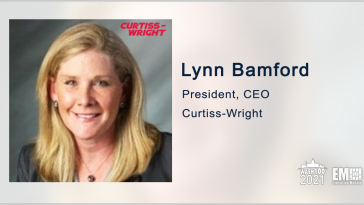 Curtiss-Wright Announces $130M in Subcontracts for Navy Platform Components; Lynn Bamford Quoted - top government contractors - best government contracting event
