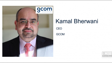 GCOM Acquires Data Analytics Firm Qlarion; Kamal Bherwani Quoted - top government contractors - best government contracting event
