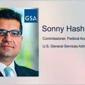 GSA Announces Integrated Government Contracting Site; Sonny Hashmi Quoted