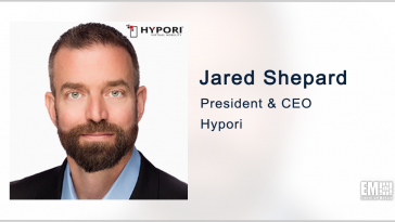 Hypori Wins Award for Mobile Data Security Approach; Jared Shepard Quoted - top government contractors - best government contracting event