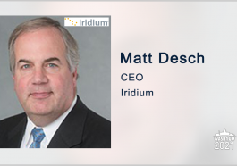 Iridium Invests in Satellite-Based Positioning Services Provider DDK; Matt Desch Quoted - top government contractors - best government contracting event