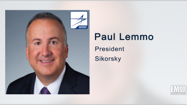 Paul Lemmo: CH-53K, Combat Rescue Helicopter Among Sikorsky's Near-Term Priorities - top government contractors - best government contracting event